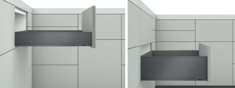 Ящики BLUM LEGRABOX orion grey