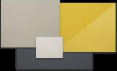 Фасады с полимерным покрытием