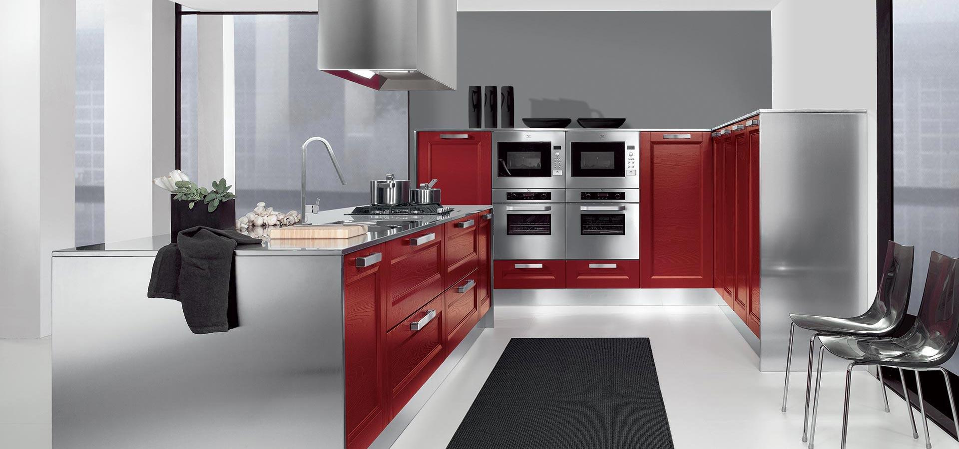 Cucina moderna con