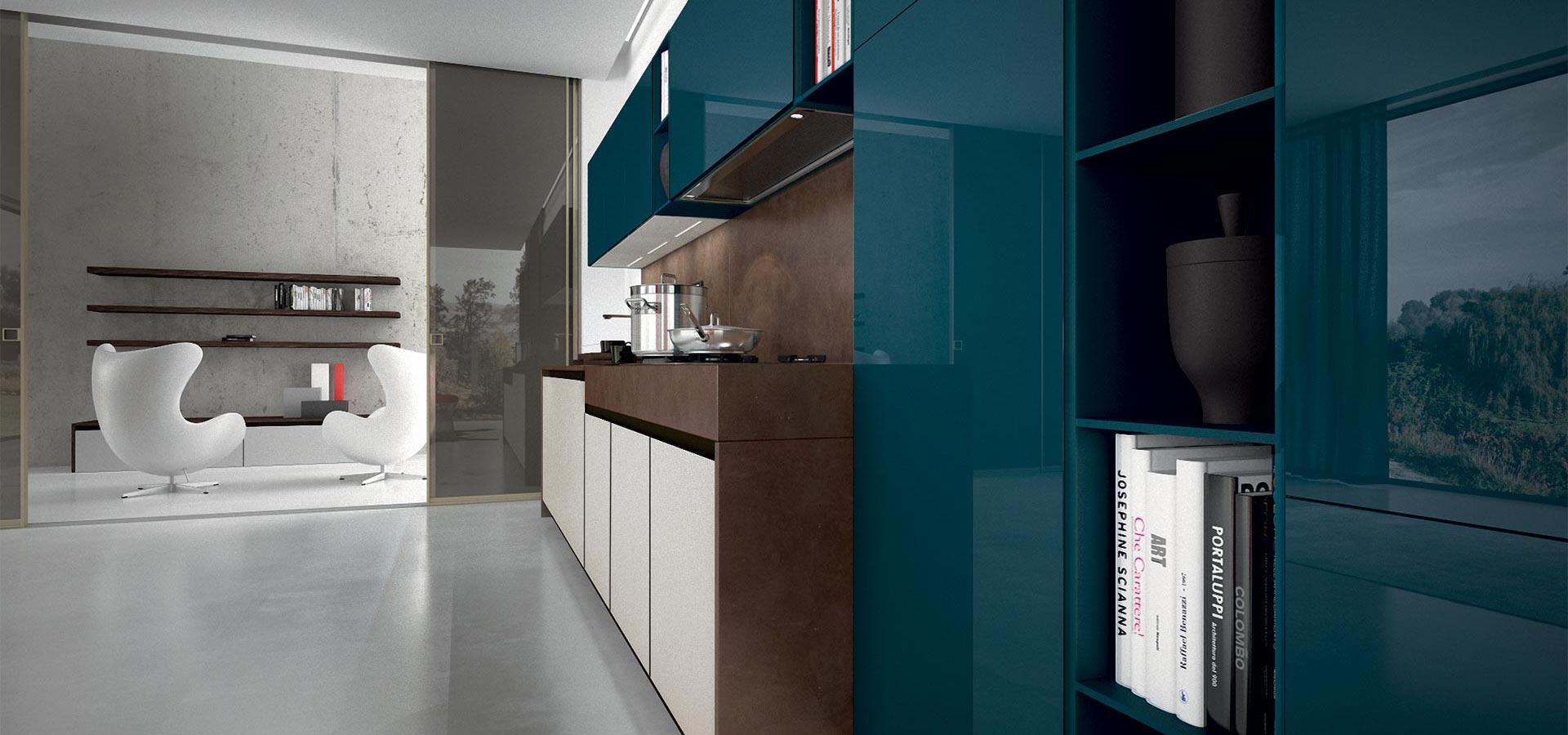 Уход за стеклянной и лакированной кухней
