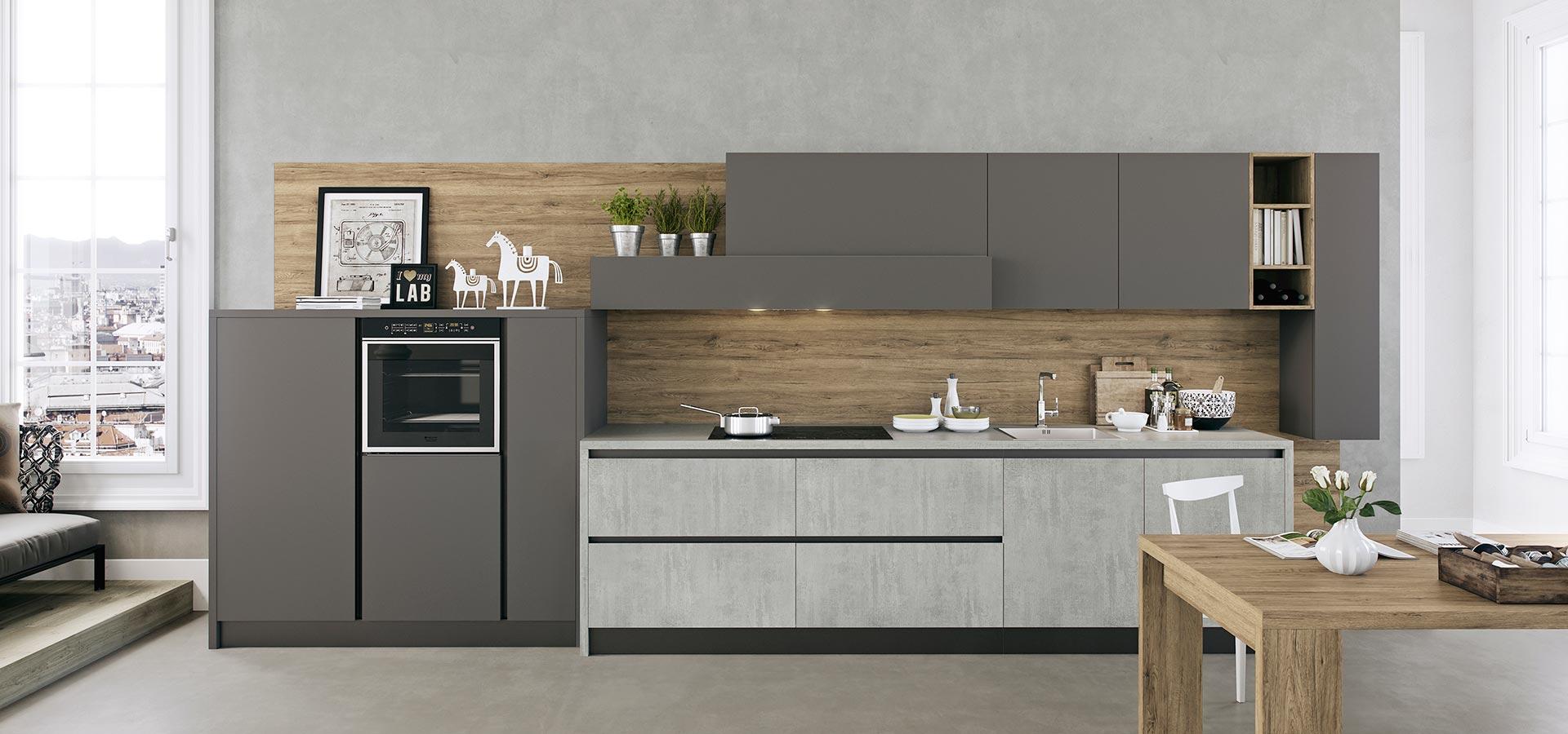 Kali modern kitchen arredo3 for Modern contemporary kitchen