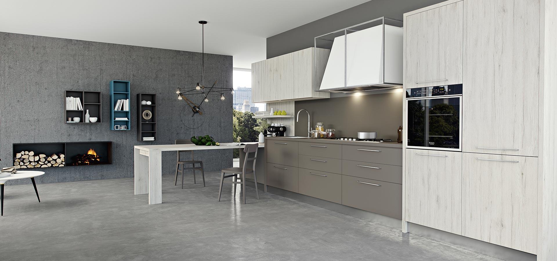 Kali modern kitchen arredo3 for Arredo3 kali