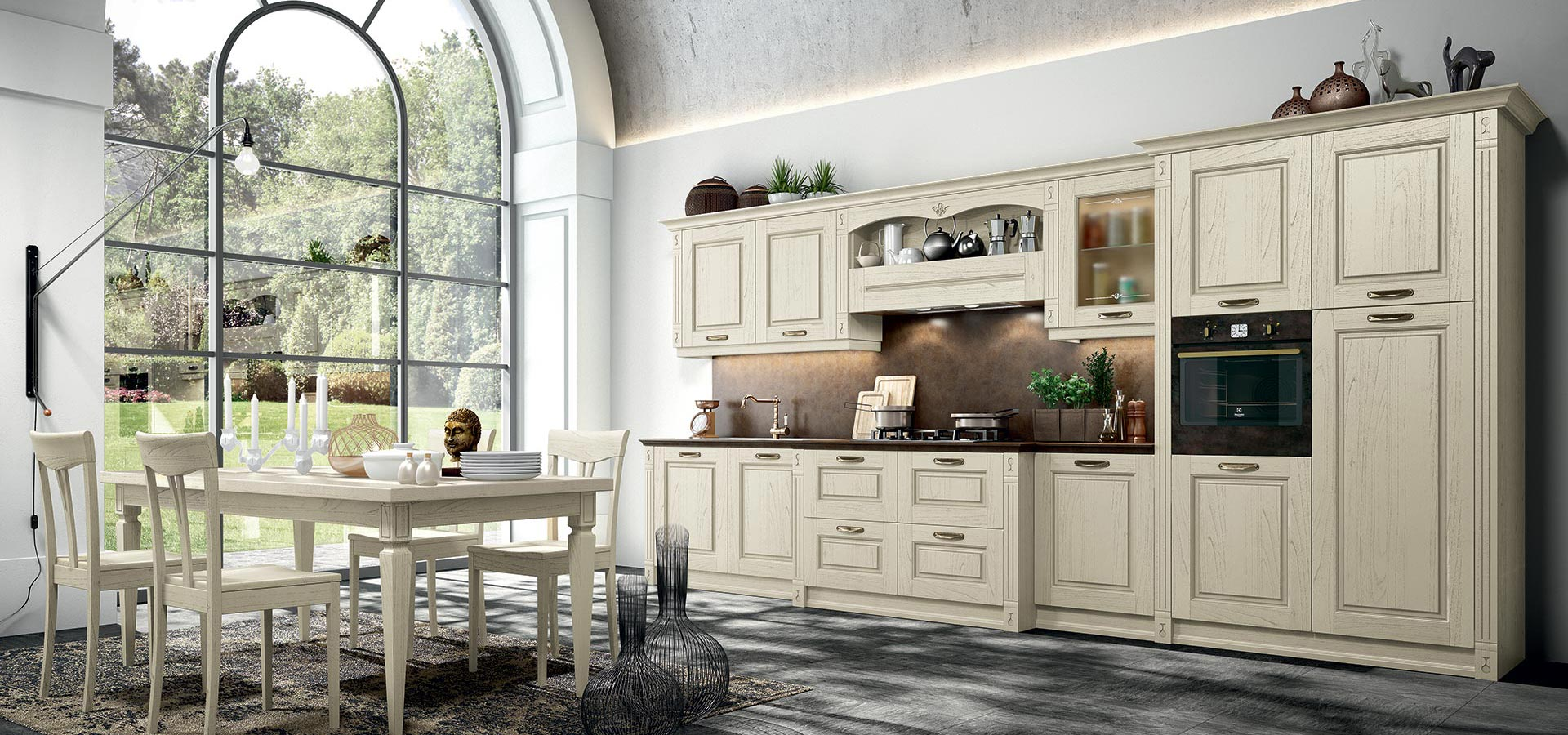 verona classical kitchen arredo3