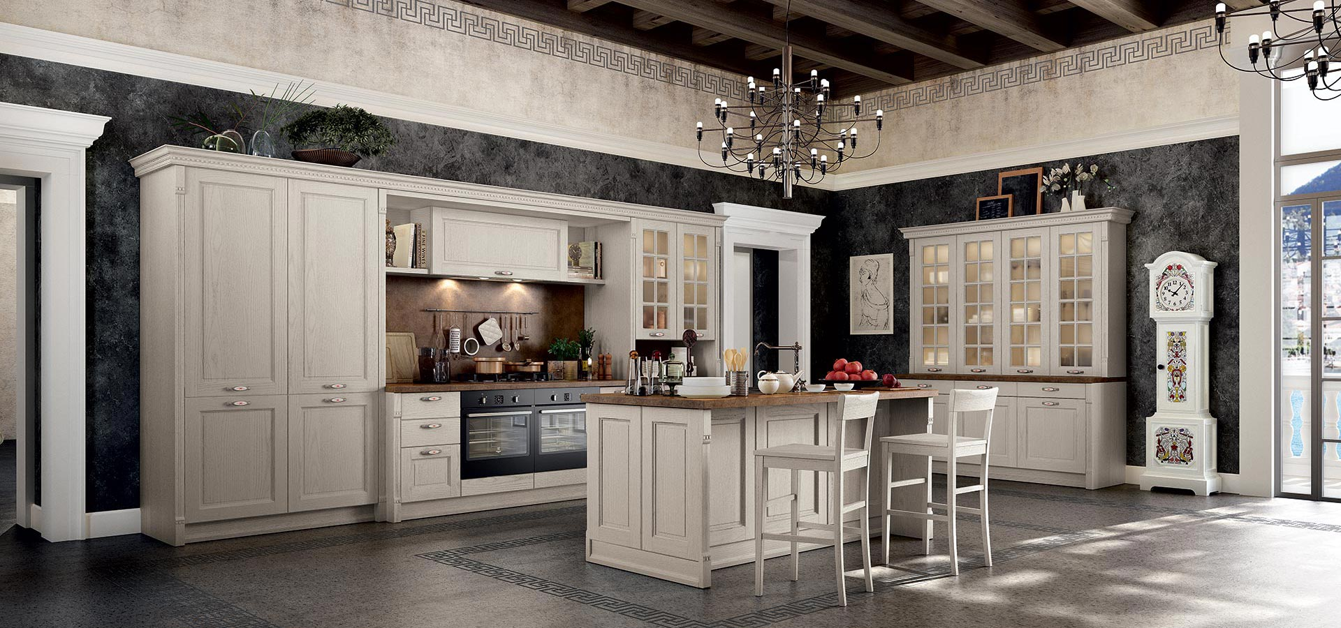 Virginia classical kitchen arredo3 for Cuisine classique