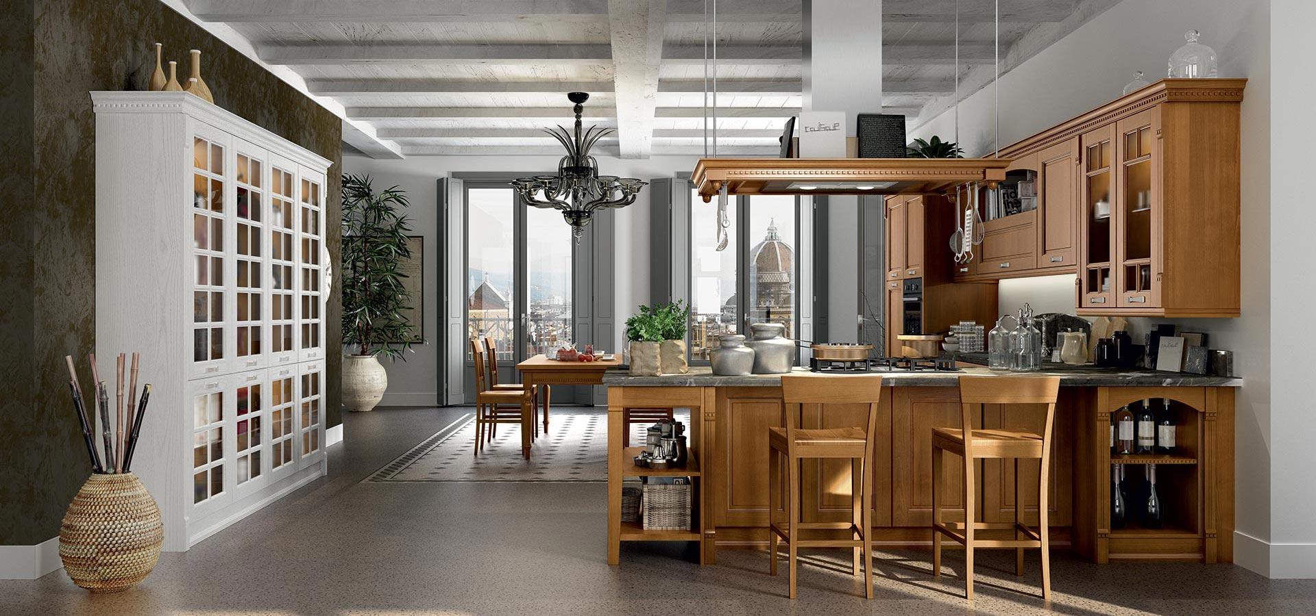 Virginia classical kitchen arredo3 for Classic homes va