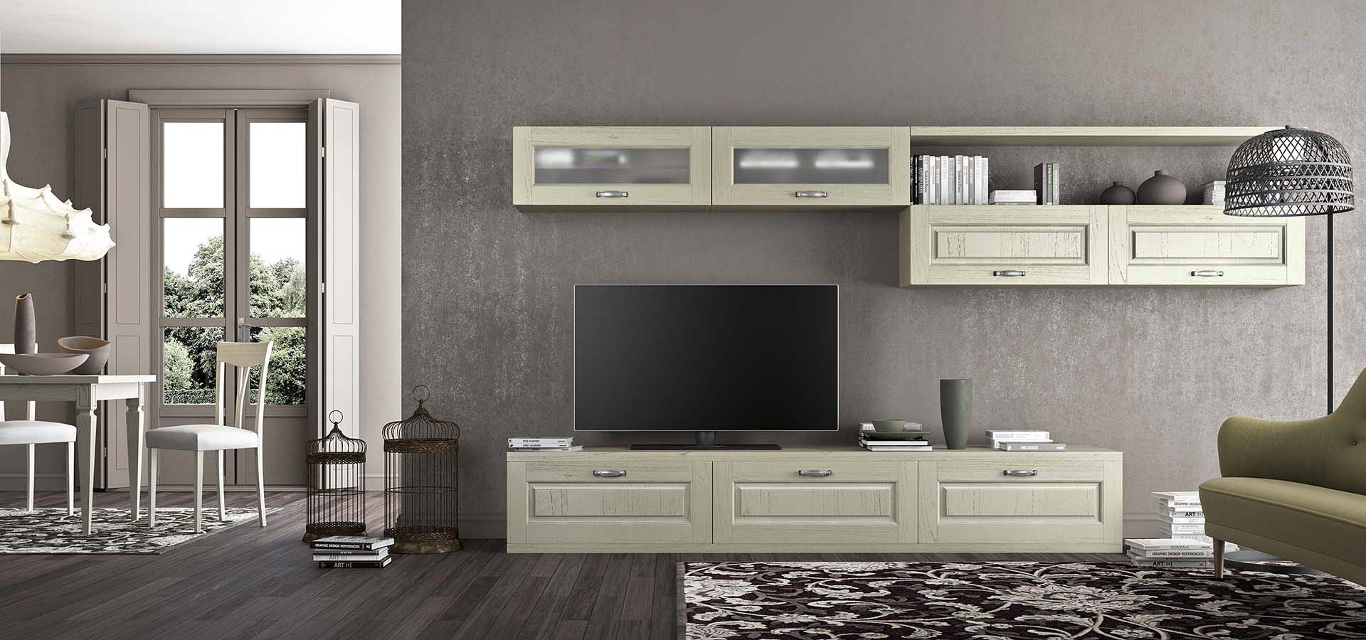VERONA — living room, TV-stand | ARREDO3