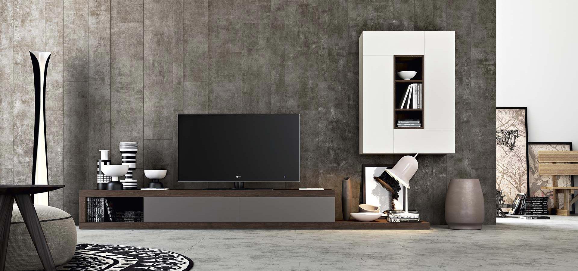Kali 3 living room tv stand arredo3 for Arredo 3 srl legnago