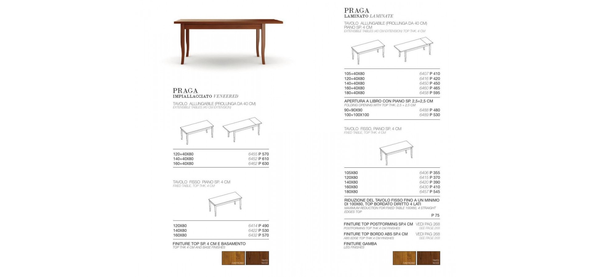 Praga tavolo dining table arredo3 praga tavolo ccuart Image collections