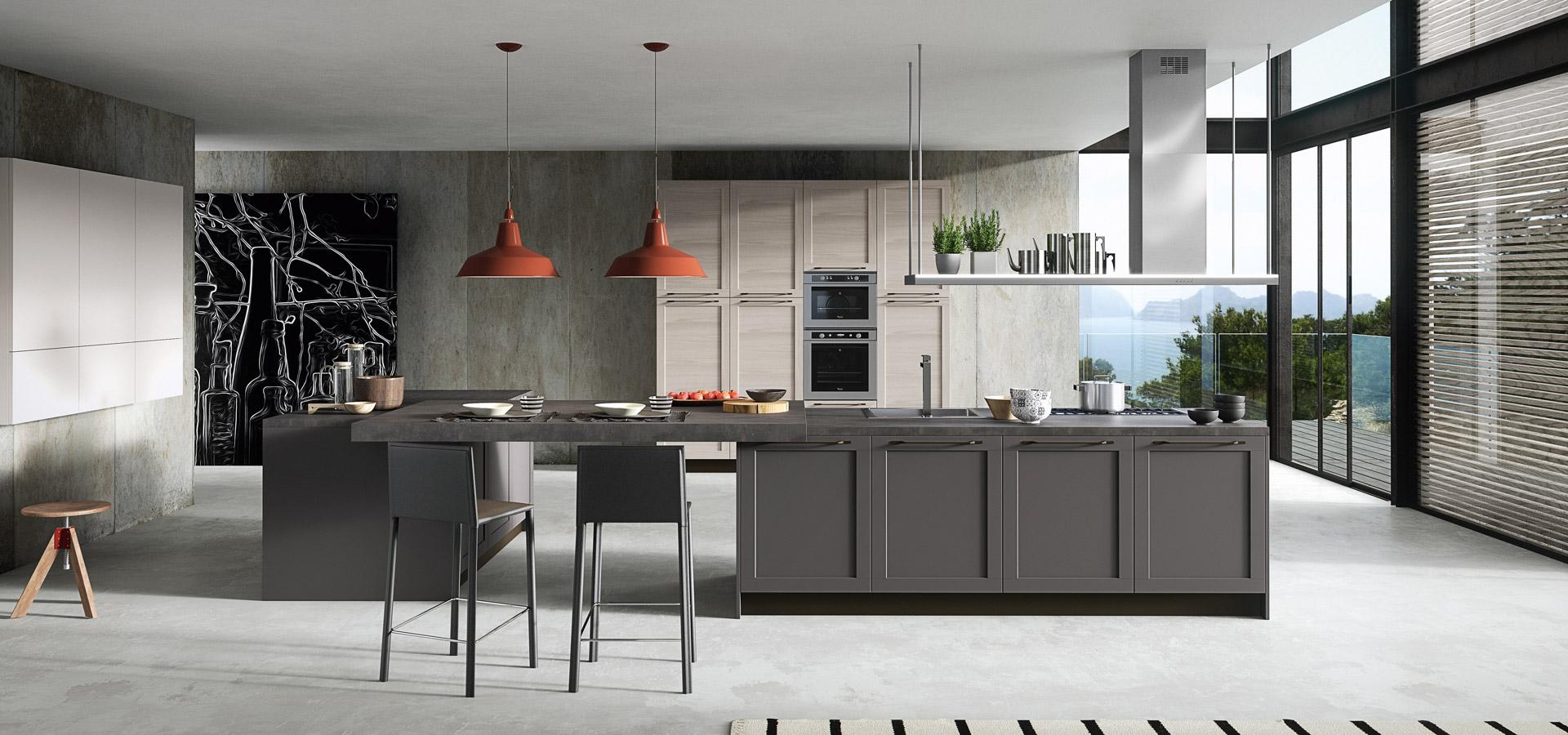 Итальянская кухня модерн FRAME | Кухня FRAME ARREDO3