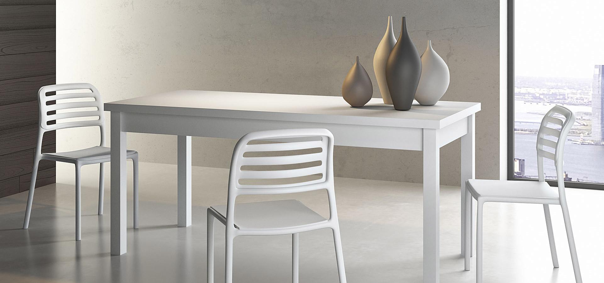 Итальянский стол DUBLINO белый | ARREDO3