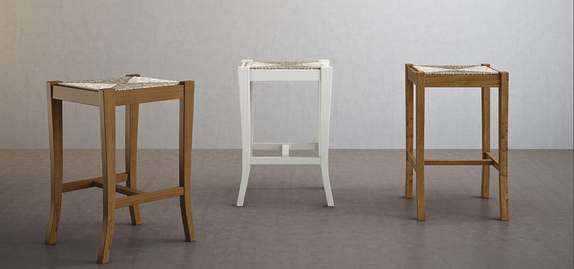 Итальянский стул Барный табурет 412 | Стул Барный табурет 412 ARREDO3