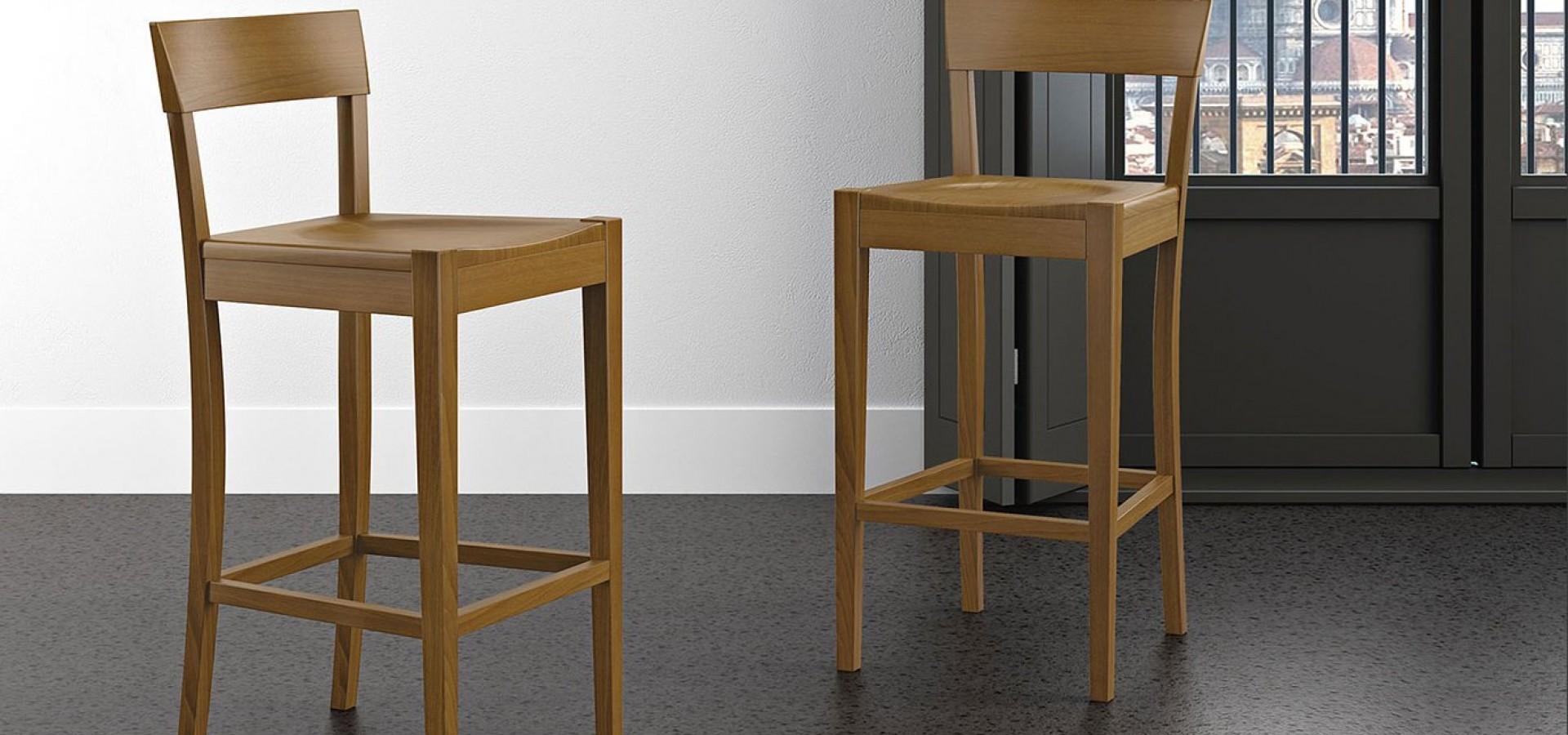 Итальянский стул Барный стул 472 | Стул Барный стул 472 ARREDO3