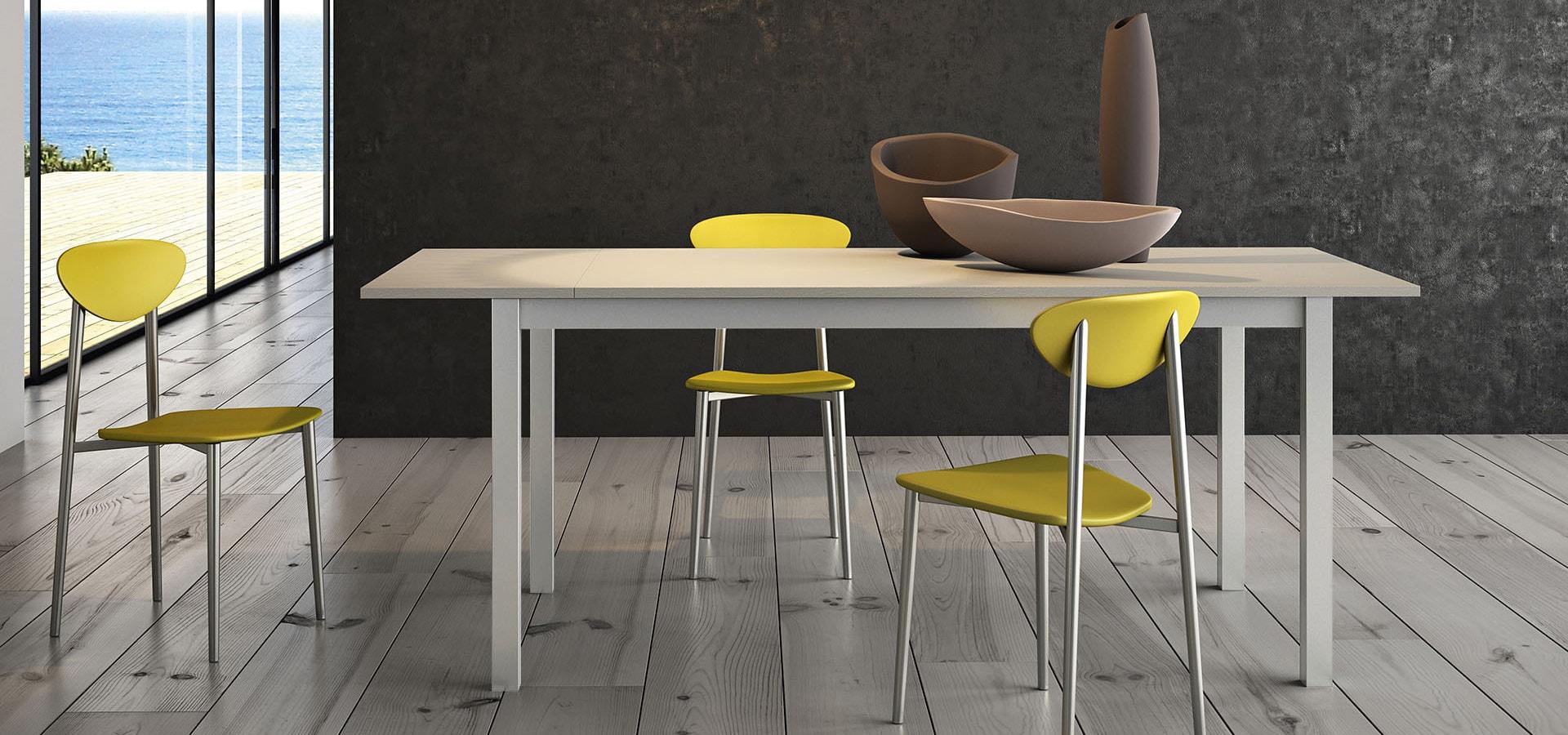 Итальянский стол MIO серый   ARREDO3