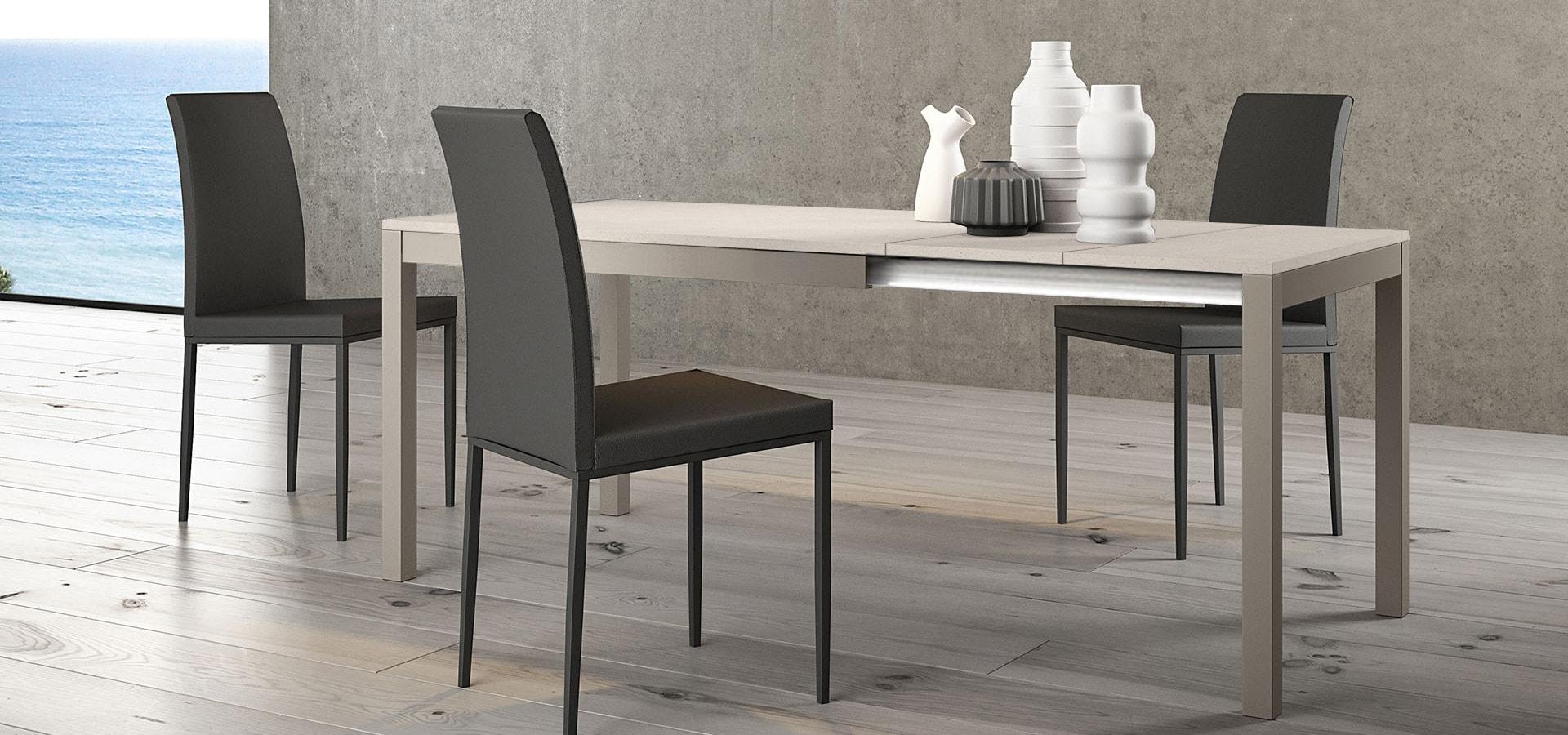 Итальянский стол MATRIX 160 серый | ARREDO3
