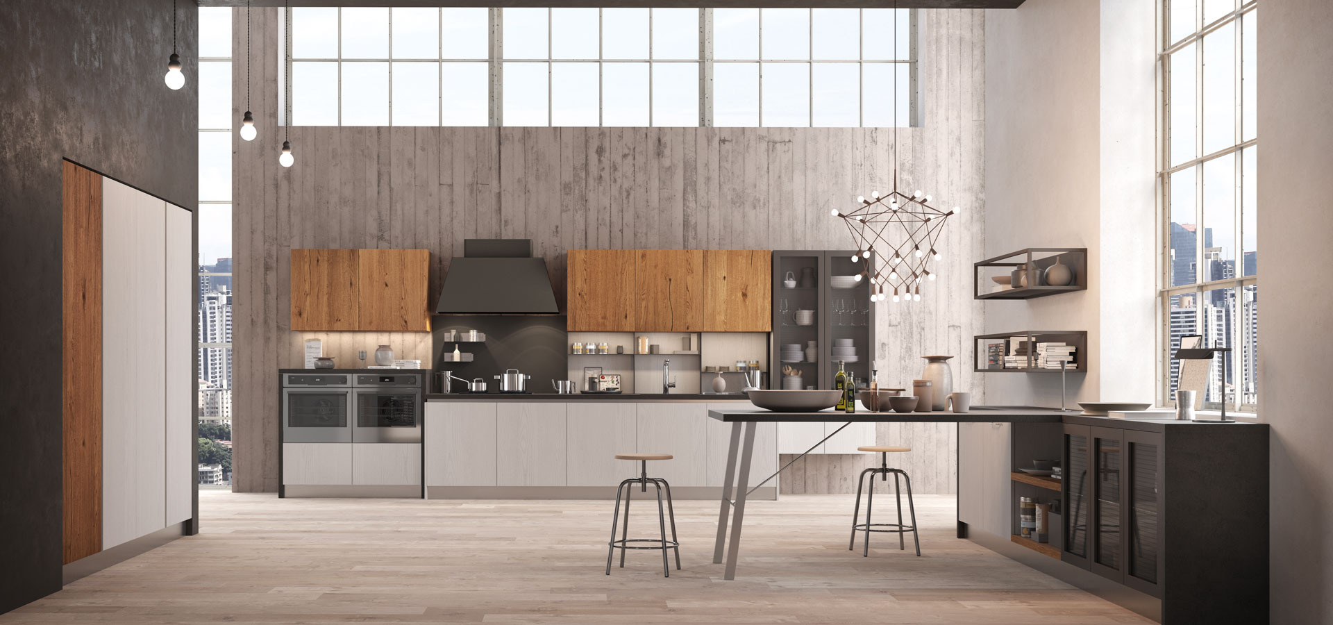 Asia factory modern kitchen arredo3 for Cucine arredo tre