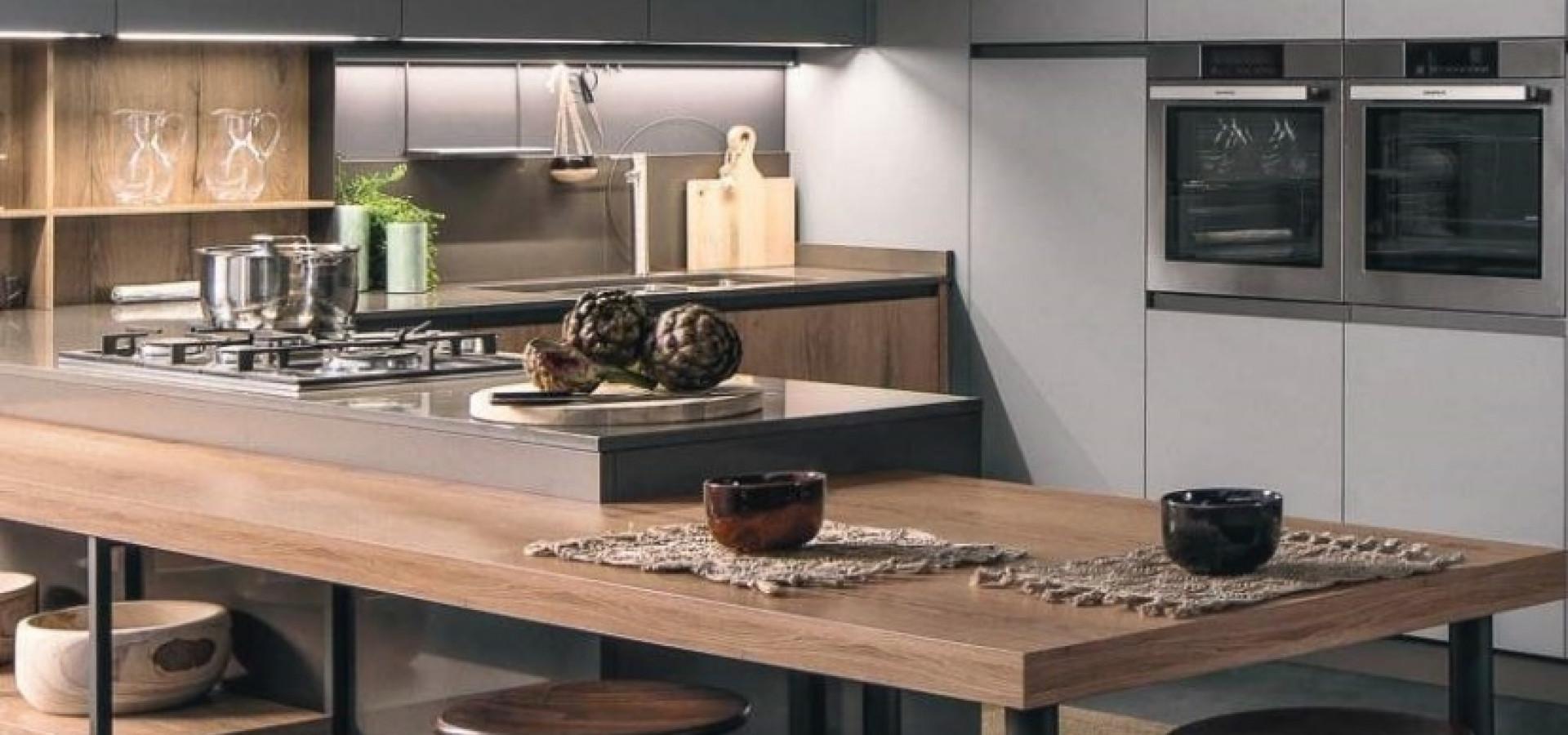 Итальянская кухня модерн KALI | Кухня KALI ARREDO3