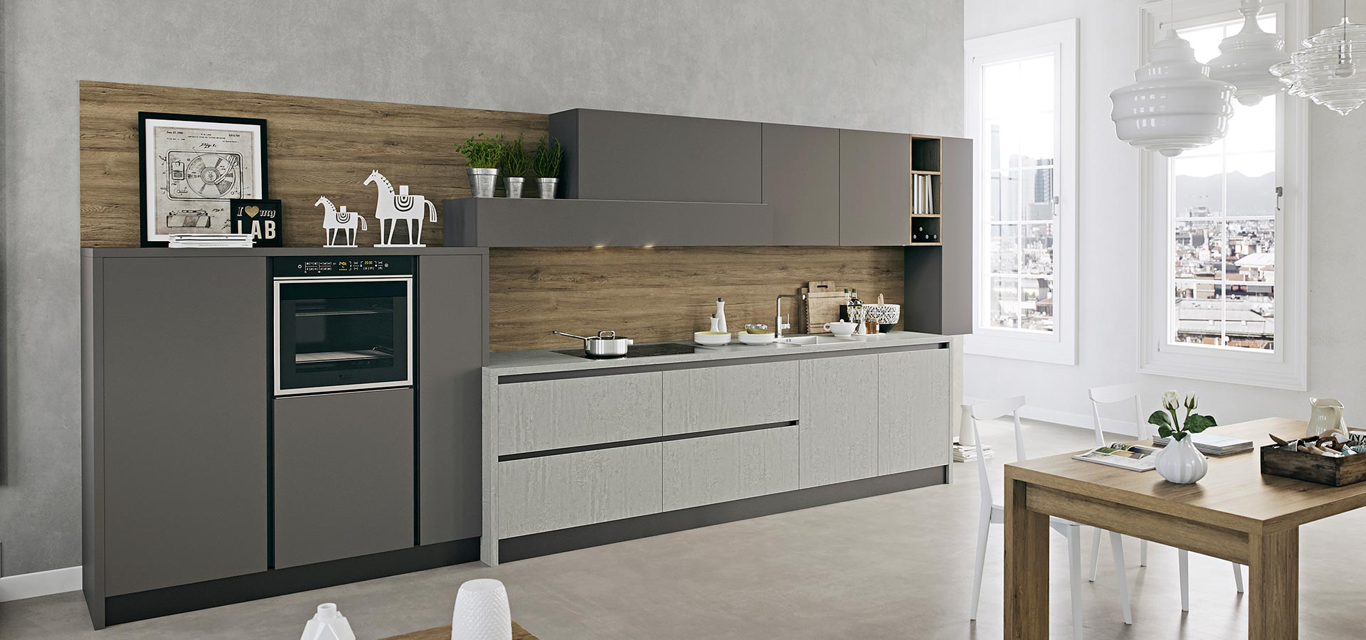 kali modern kitchen arredo3