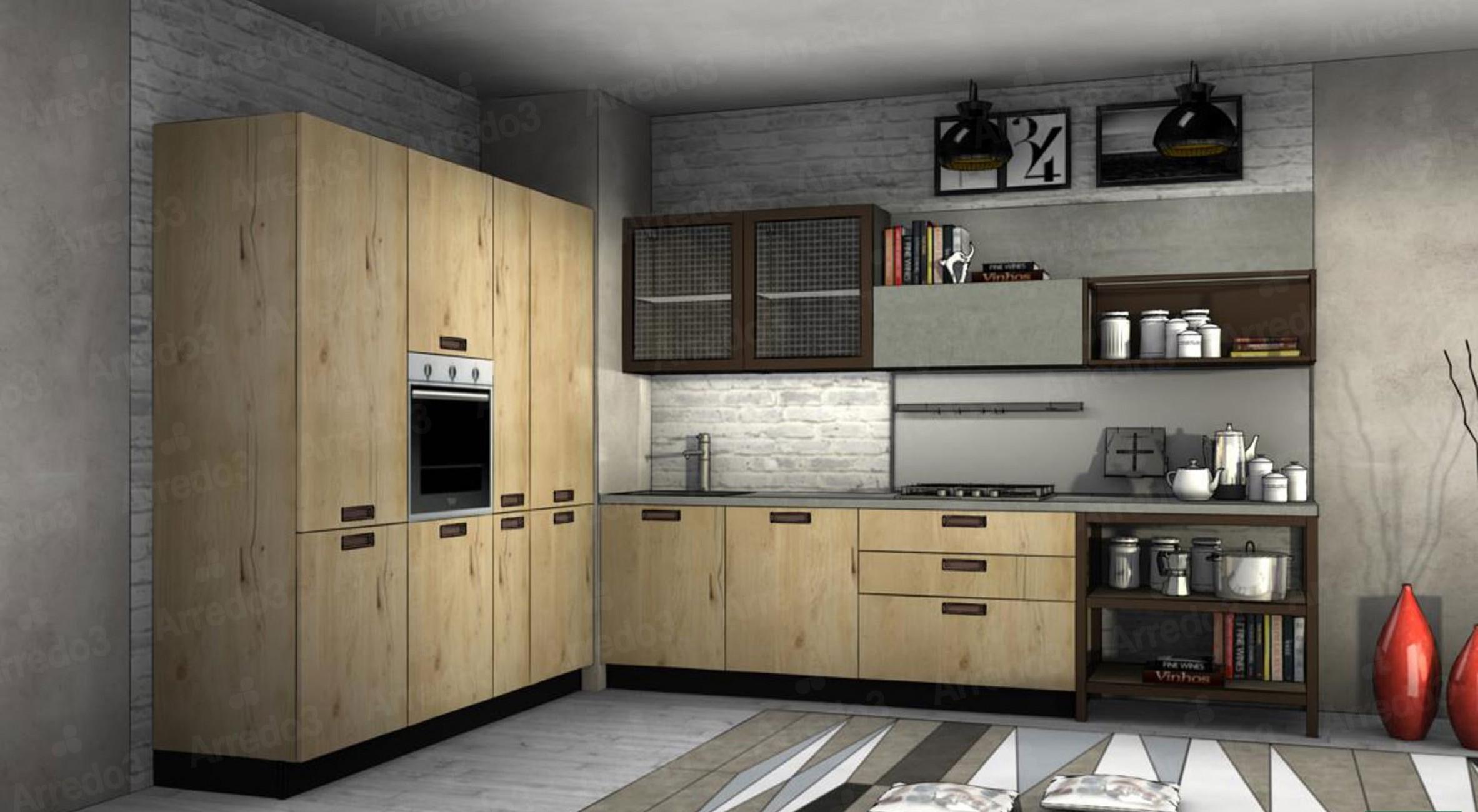 Итальянская Кухня KALI AM10   Цена на Кухня KALI AM10 ARREDO3