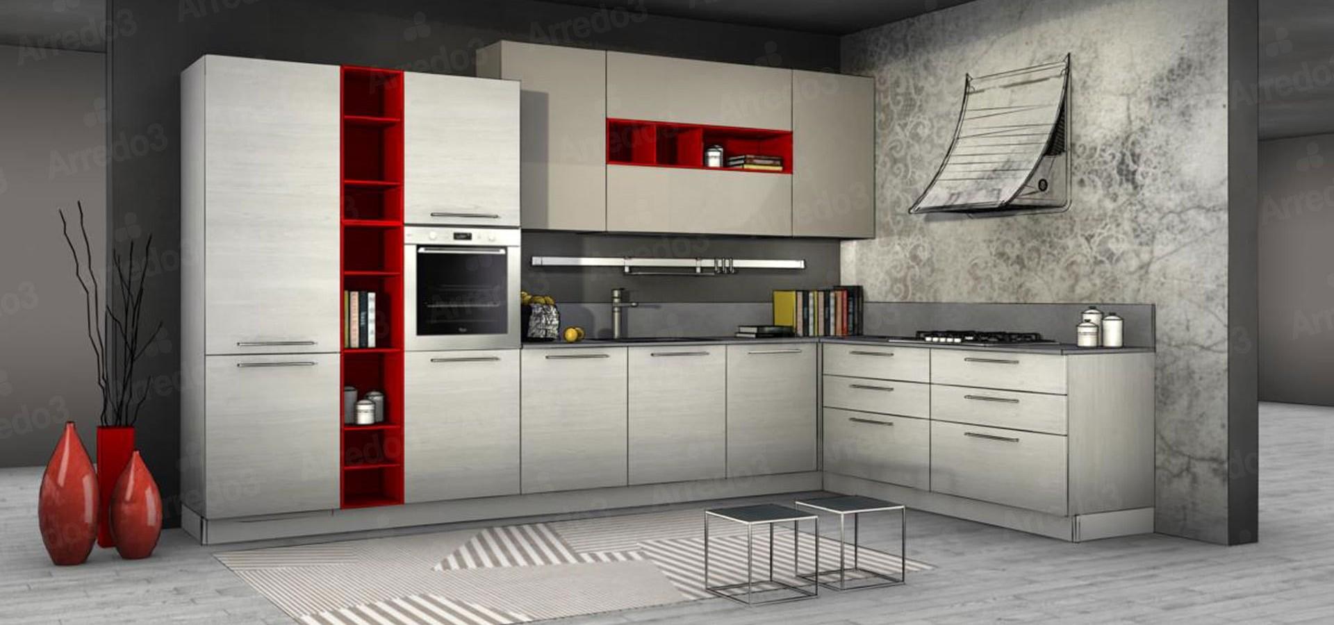 Итальянская КухняCLOE AM06 | Цена на КухняCLOE AM06 ARREDO3