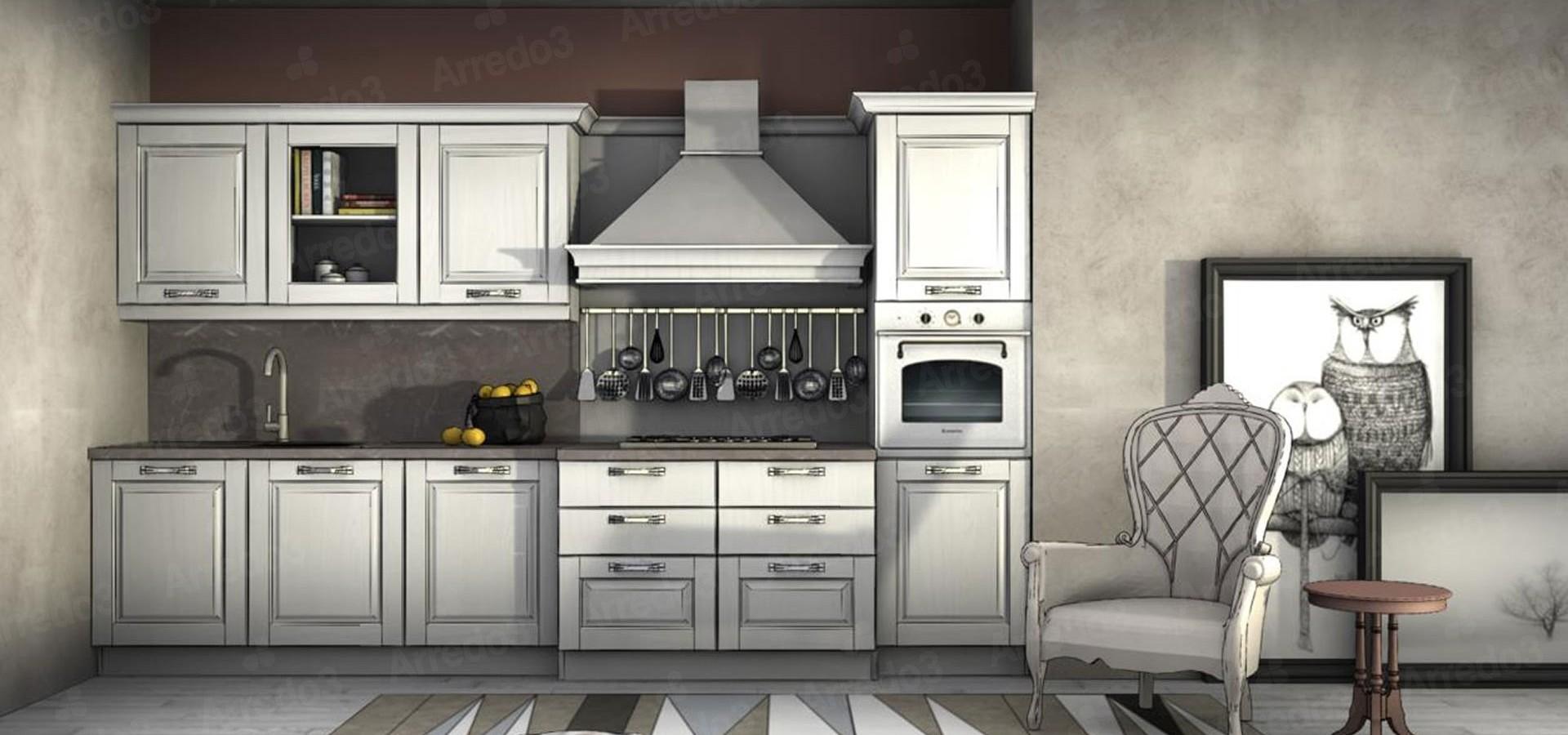 Итальянская Кухня ASOLO LC08 | Цена на Кухня ASOLO LC08 ARREDO3