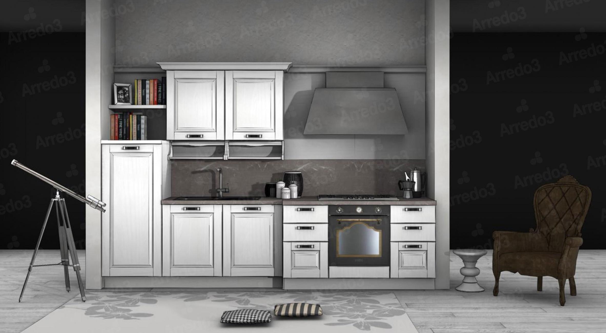 Итальянская Кухня ASOLO LC09 | Цена на Кухня ASOLO LC09 ARREDO3