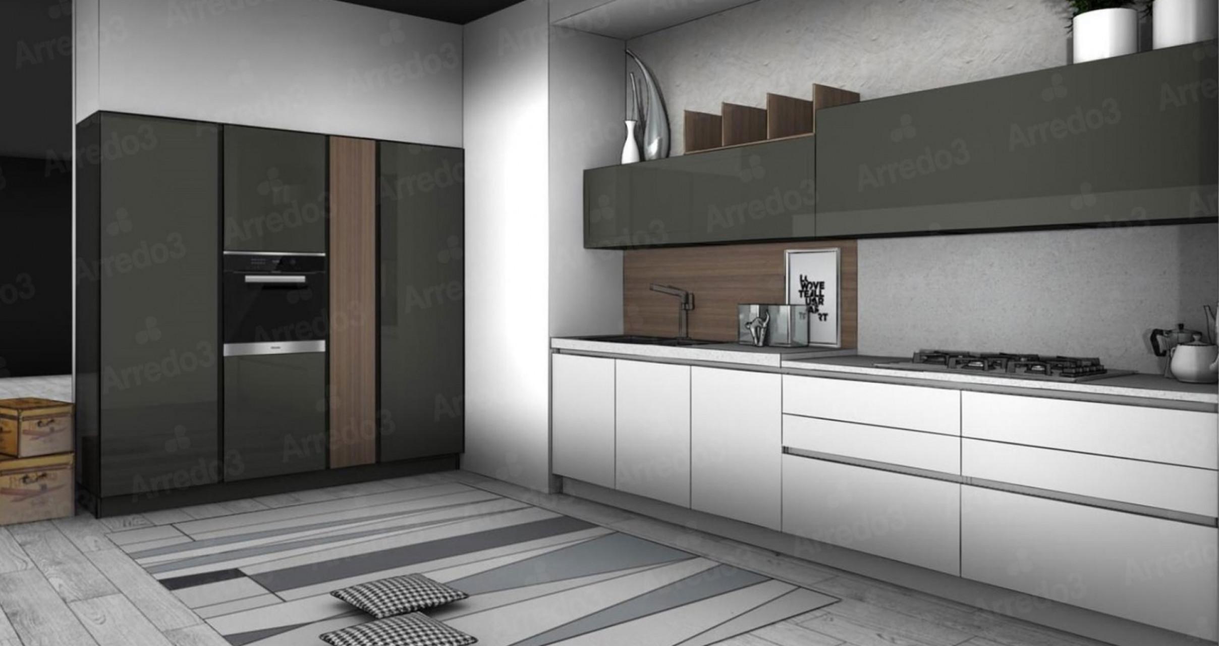 Итальянская Кухня KALI LM13 | Цена на Кухня KALI LM13 ARREDO3