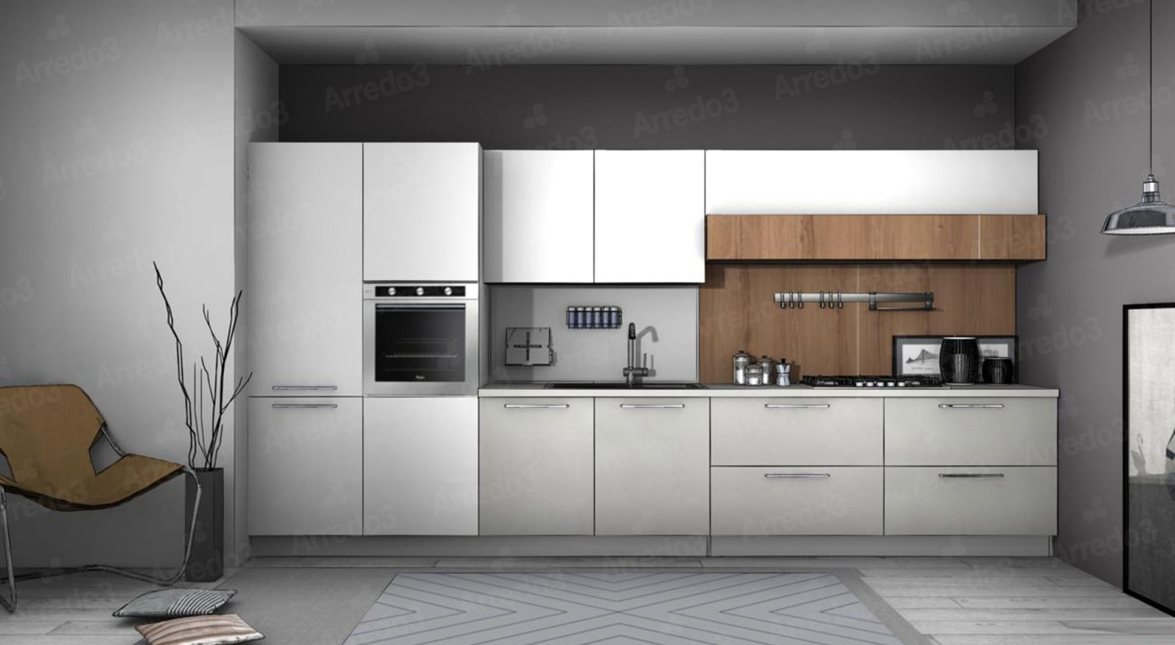 Итальянская Кухня CLOE LM01 | Цена на Кухня CLOE LM01 ARREDO3