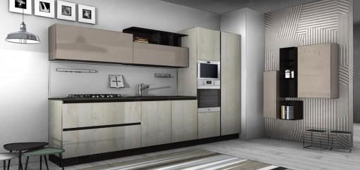 Кухня ROUND LM02