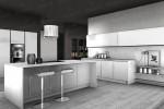 Итальянская Кухня GLASS IM02   Цена на Кухня GLASS IM02 ARREDO3