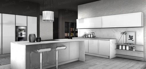 Кухня GLASS IM02