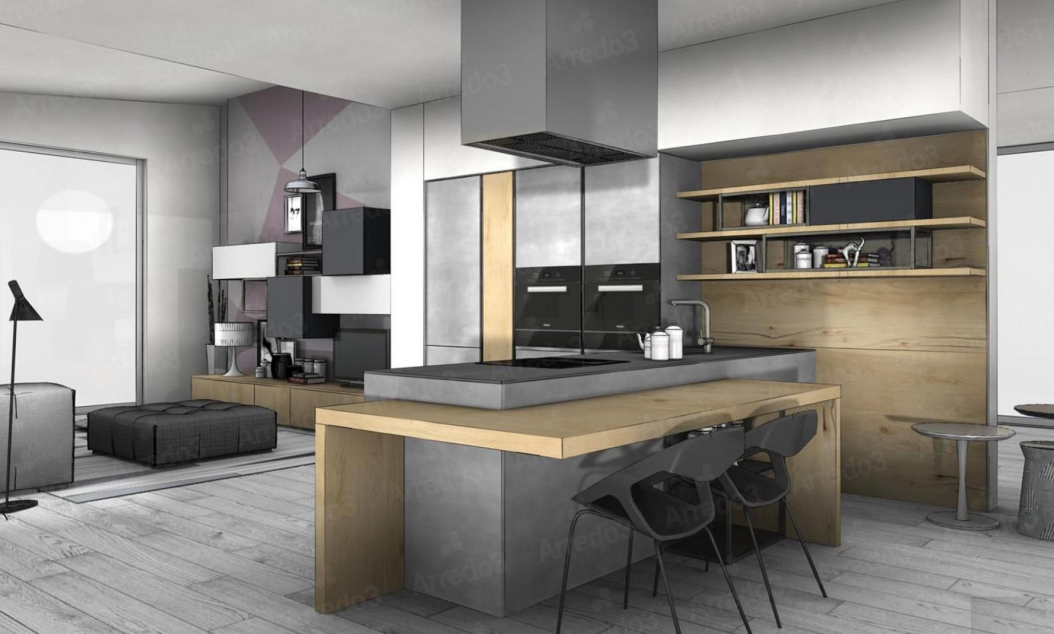 Итальянская Кухня TIME IM03 | Цена на Кухня TIME IM03 ARREDO3