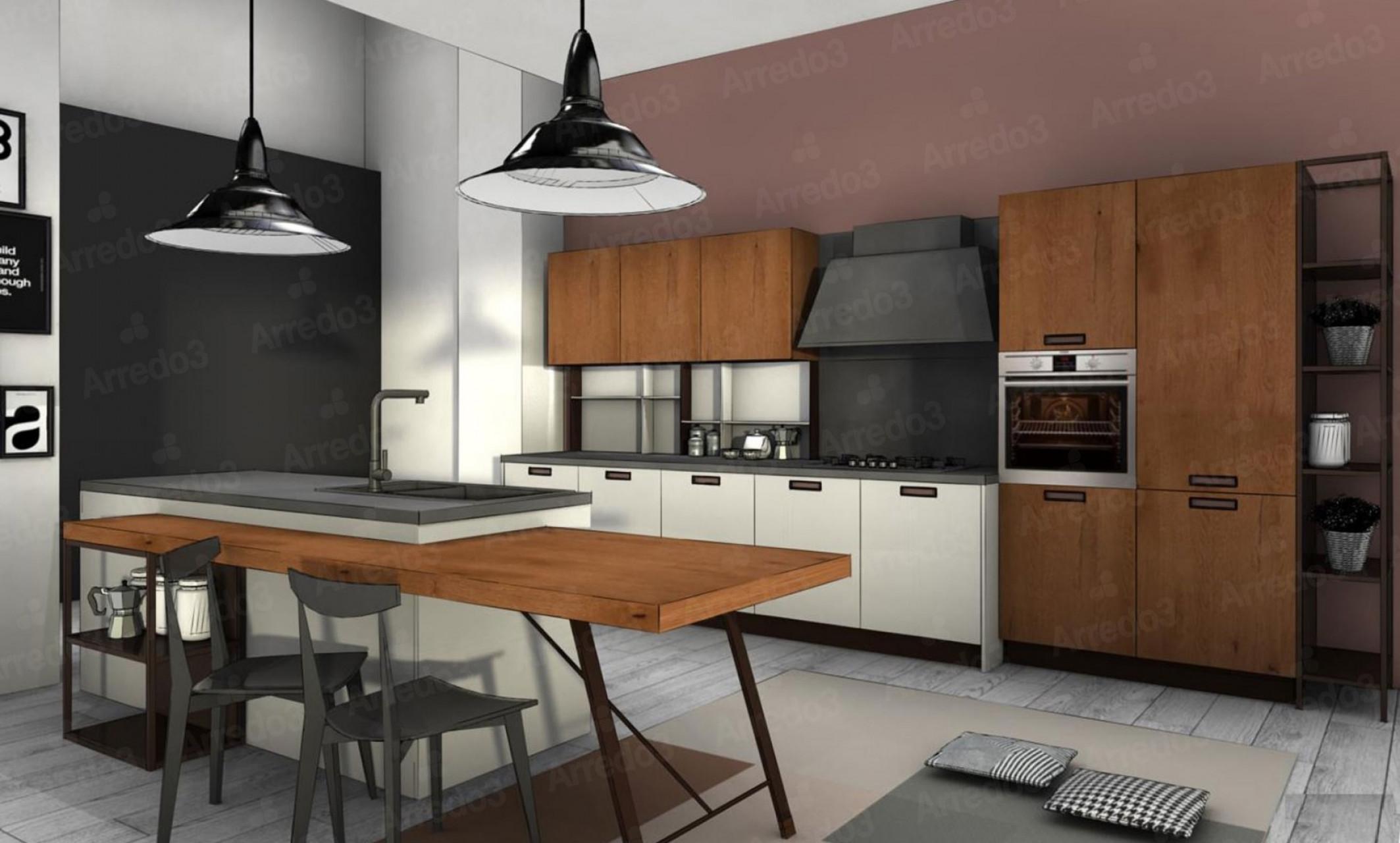 Итальянская Кухня TIME IM06 | Цена на Кухня TIME IM06 ARREDO3