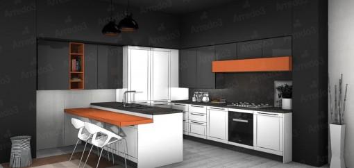 Кухня FRAME IM09