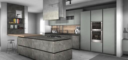 Кухня ZETASEI IM16