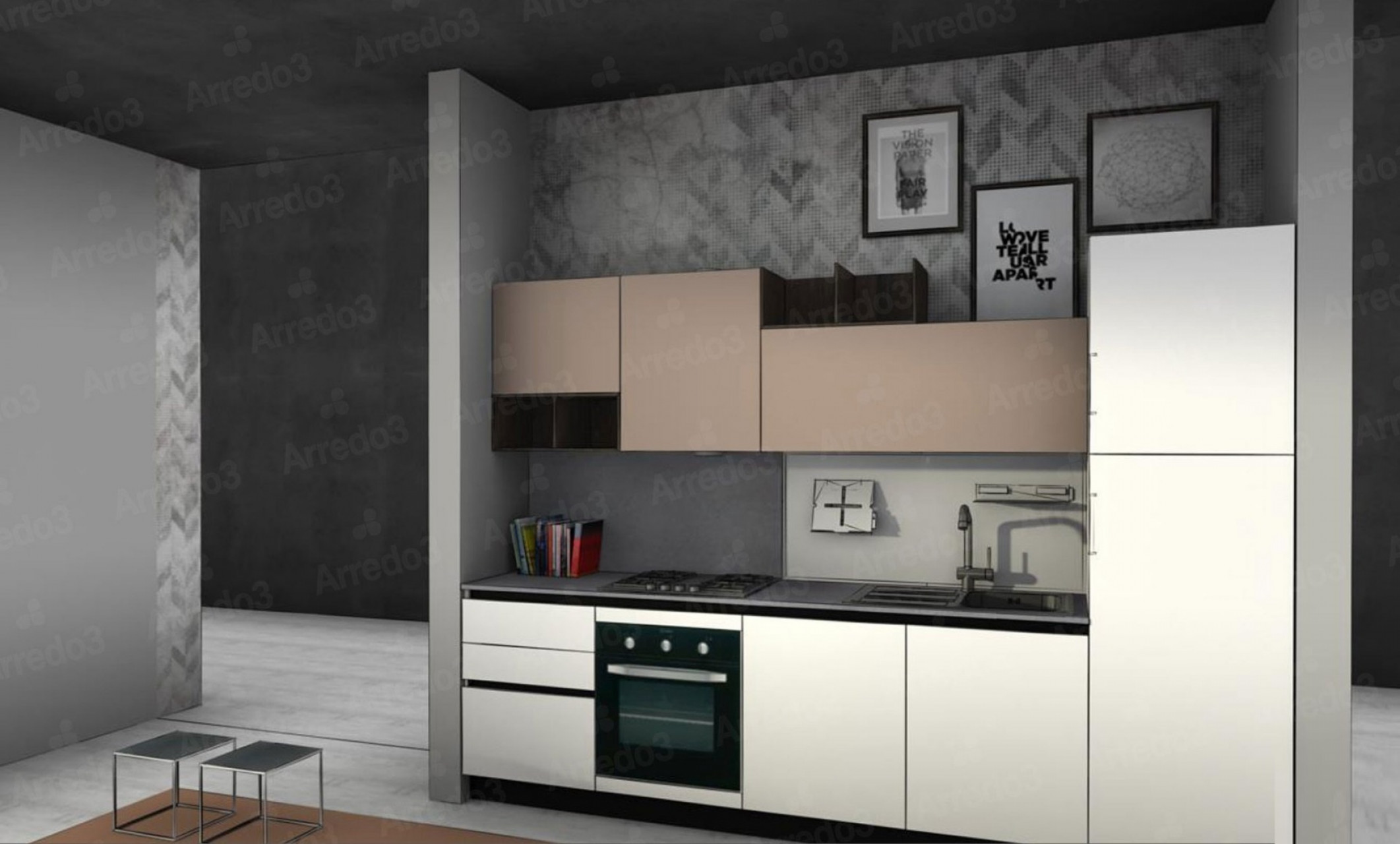 Итальянская Кухня CLOE LM27   Цена на Кухня CLOE LM27 ARREDO3