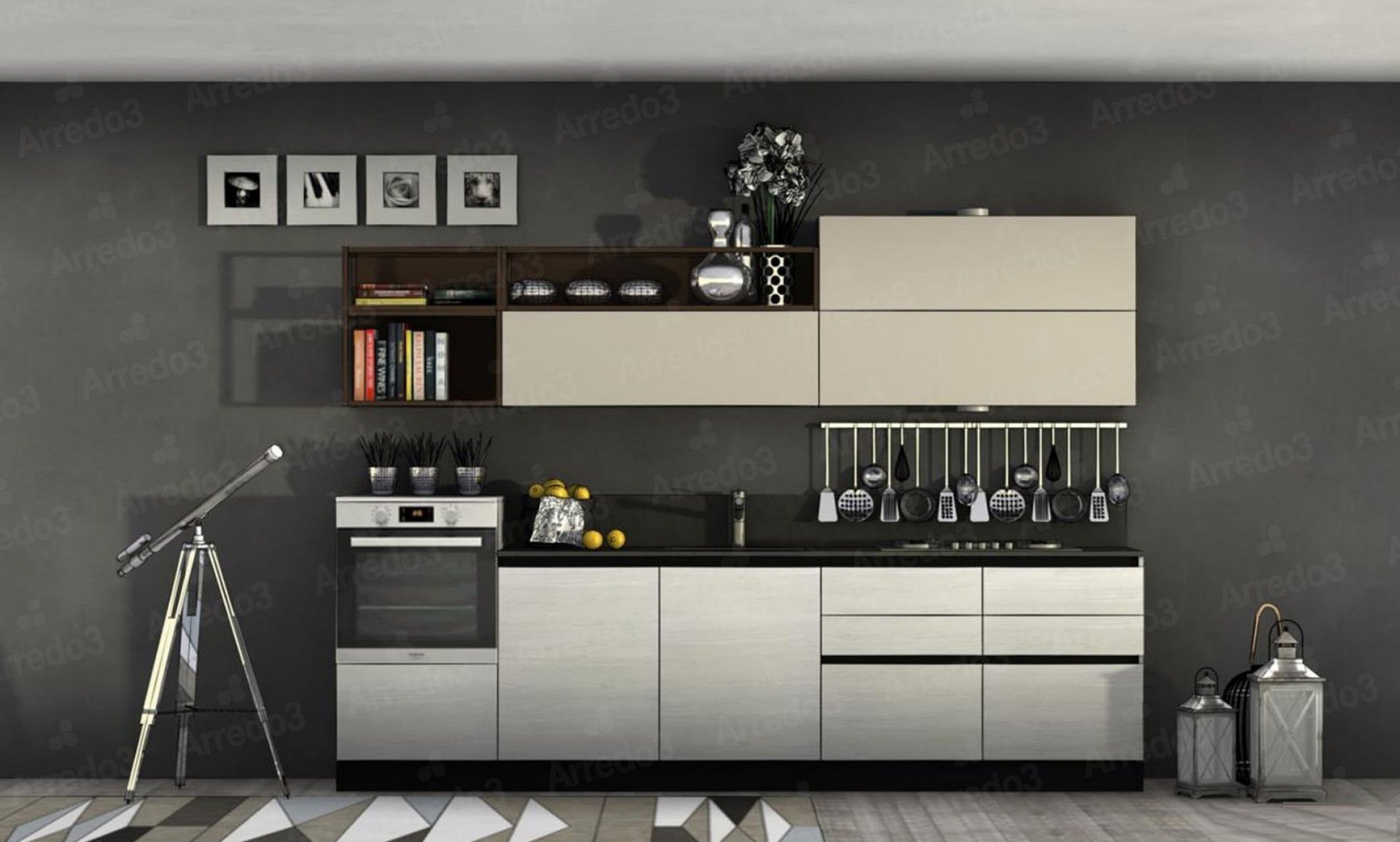 Итальянская Кухня CLOE LM28 | Цена на Кухня CLOE LM28 ARREDO3