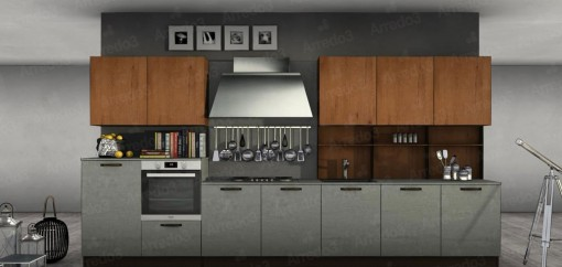 Кухня FACTORY LM29