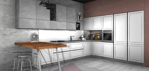 Кухня FRAME AM20