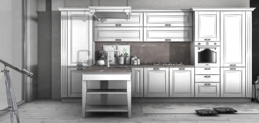 Кухня ASOLO PC01