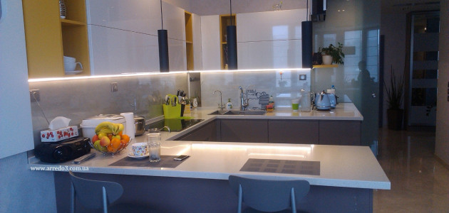 Кухня WEGA-TIME Grigio