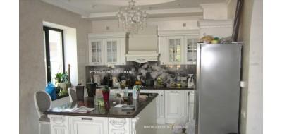 Кухня Viktoria Bianco Argento