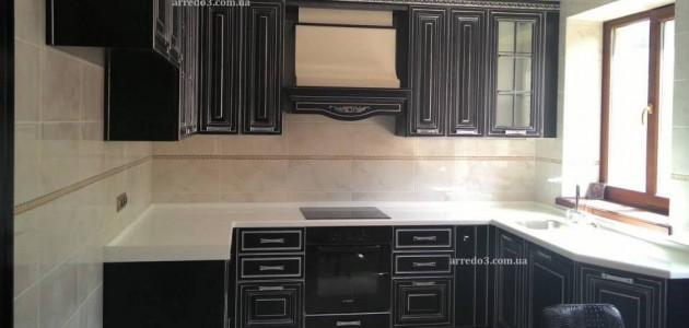 Кухня Viktoria Nero
