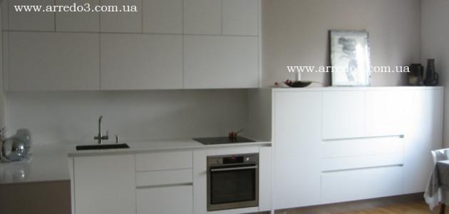 Кухня Kali Bianco Lucido