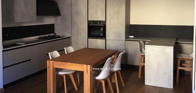 Кухня KALI Cemento