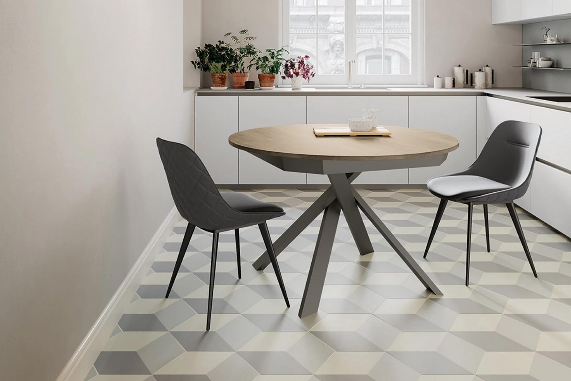 Итальянский стол TWIST и стулья от Arredo3