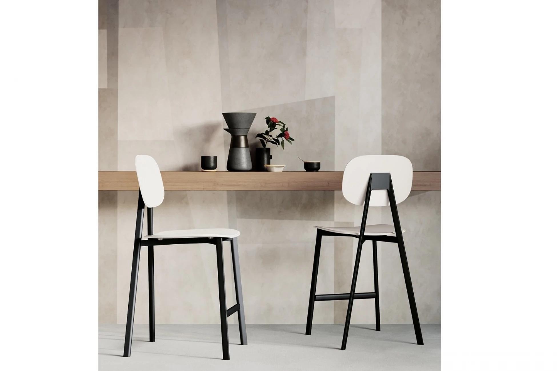Итальянские ,барные стулья ALPHA в современном стиле от Arredo3